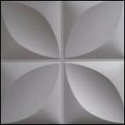 PAINEL GESSO 3D FLORAL 28X28